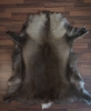 Warm-brown reindeer hide